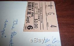 Original Beatles 1964 Concert Ticket Stub Olympia Stadium Detroit RARE
