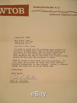 Original Beatles 1965 Atlanta Concert Ticket Stub Tour Book Newspaper Article +