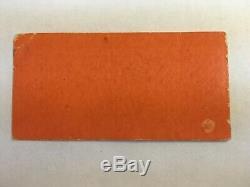 Original Beatles 1966 Concert Ticket Stub and Program