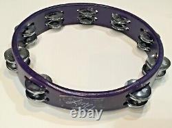 Original Prince Love God Purple Tambourine Purple Rain Concert + Ticket Stub