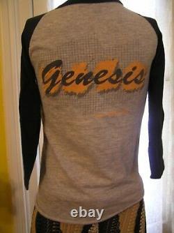 Original Rare Genesis'83 Mama Tour Concert Shirt Ticket Stub & Original Program