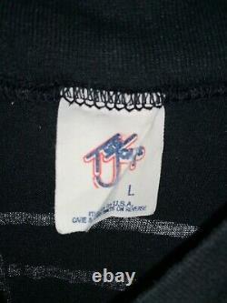 Original Vintage Michael Jackson 1984 Victory Tour T-shirt + Concert Ticket Stub