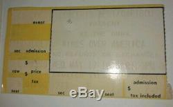 PAUL McCARTNEY & WINGS 1976 USTour ATLANTA Concert T-SHIRT, TICKET STUB, 1974 NEWS