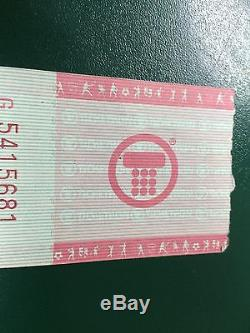 PRINCE RARE Feb 11, 1980 Concert At Bogarts Ticket stub