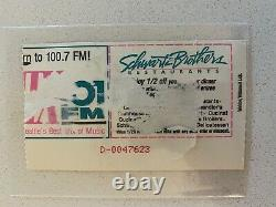 Pearl Jam Concert Ticket Stub Moore Theater 1992 Seattle Even Flow Video