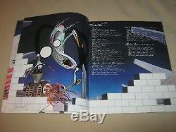 Pink Floyd 1980 Concert Ticket Stub & Programthe Wall Tourlos Angeles2/9/80