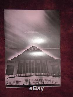 Pink Floyd Dark Side Of The Moon 1973 Earls Court Concert Program & Ticket Stub