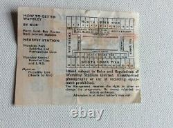 Pink Floyd In Concert Wembley Tuesday 15 March 1977 Ticket Stub Very Rare
