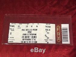 Prince Piano & A Microphone Tour Final Concert show Ticket Stub Atlanta 10pm
