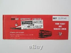 QUEEN 1979 Paris France Concert Ticket Stub French Live Killers Tour + Extras