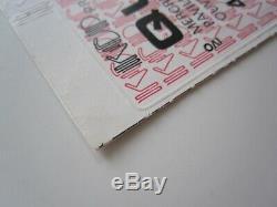 QUEEN 1979 Paris France Concert Ticket Stub Live Killers Tour Freddie Mercury