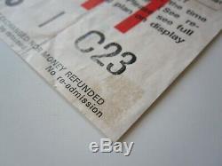 QUEEN Hammersmith Odean London UK 1979 Concert Ticket Stub 26.12.1979