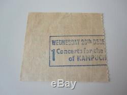 QUEEN Hammersmith Odeon London UK 1979 Concert Ticket Stub Crazy Tour