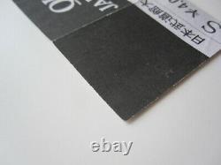Queen 1981 Budokan Tokyo Japan Concert Ticket Stub Japanese Tour 13.02.1981
