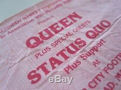 Queen Maine Road Manchester 1986 Magic Tour UK Concert Ticket Stub