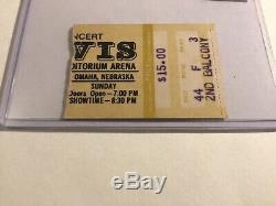 RARE Elvis 1977 CBS Special Omaha Concert Ticket Stub