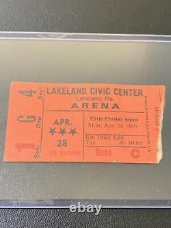 RARE Original Elvis April 28, 1975 Lakeland, FL Concert Ticket Stub