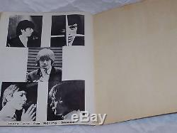 Rolling Stones 1964 Nyc Concert Ticket Stub & Program