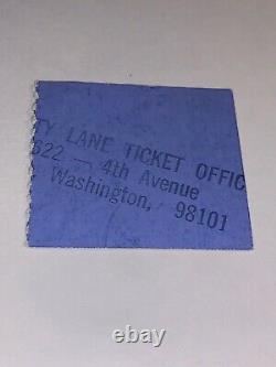 Rare Original Elvis Concert Ticket Stub Seattle WA / April 29, 1973