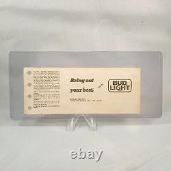 Ratt The Omni Atlanta Georgia Concert Ticket Stub Rare Vintage December 3 1985