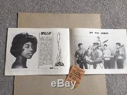 Rolling Stones 1964 Original Uk Concert Programme+ticket Stubcaird Hall Dundee