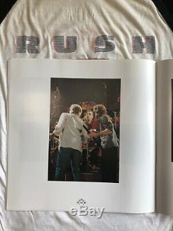 Rush 85-86 Power windows vintage concert T-shirt WithTicket Stub Program & Pics