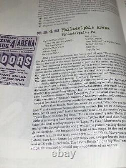 THE DOORS 1968 THE TOPPI'S ARENA CONCERT TICKET STUB Jim Morrison Robby Krieger