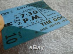 THE DOORS Original 1968 CONCERT TICKET STUB Asbury Park