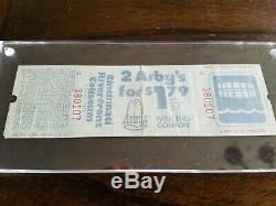 THE WHO 12/3/1979 Tragedy Concert Ticket Stub Cincinnati Dec 3 1979 RARE