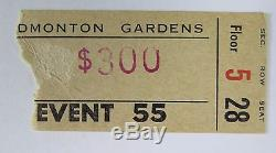 THE WHO March 2, 1968 Edmonton The Who Sell Out Tour Concert Ticket Stub RARE