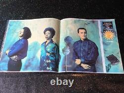 Tears For Fears Concert Program + Ticket Stub Curt Smith Signed Guitar Tap Board