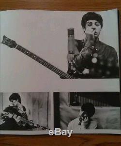 The Beatles 1964 U. S. A. Concert tour program & Cincinnanti Gardens ticket stub