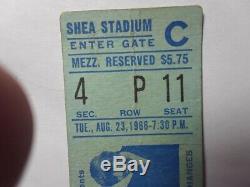 The Beatles-1966 RARE Original Concert Ticket Stub New York-Shea Stadium