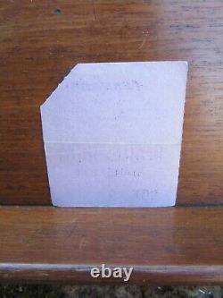 The Beatles Granada East Ham Concert Ticket Stub Nov 9th 1963 Ex+