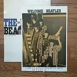 The Beatles Japan Performance Concert Ticket Stub Genuine 1966.7.2 and Pamphlet
