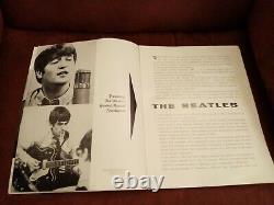 The Beatles Leeds Odeon Original 1964 Concert Programme with Ticket Stub