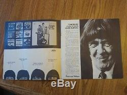 The Beatles original 1966 Shea Stadium ticket stub + concert program in vg+cond