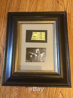 The Beatles original Sept. 1964 Milwaukee concert ticket stub & program vg cond