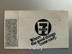 The Cure Kiss Me Tour 1987 Vintage Original Concert T-Shirt and TICKET STUB