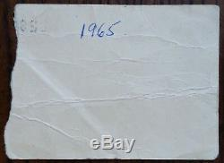 The Rolling Stones-1965 RARE Concert Ticket Stub (Albany, NY-Palace Theatre)