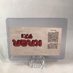 The Tubes Utopia Concord Pavilion California Concert Ticket Stub July 5 1985