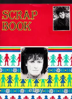 ULTRA RARE 1969 DONOVAN NEW YORK CONCERT TICKET STUB AND DONOVAN SCRAPBOOK LOT