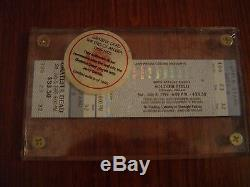 (Ultra Rare) GRATEFUL DEAD JERRY GARCIA GDTS TICKET STUB CHICAGO CONCERT 7/8/95