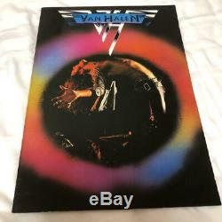 VAN HALEN JAPAN TOUR'78 1978 Concert Brochure Booklet Pamphlet & Ticket stub