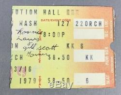Vintage 1970s Concert Ticket Stubs including Lynyrd Skynyrd, Beach Boys Rock Era