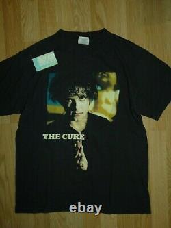 Vintage 1996 NOS The Cure Wild Mood Swings Tour Concert Shirt & Ticket Stub DC