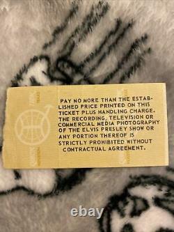 Vintage Concert Ticket Stub Elvis Presley April 22 1977 Olympia Stadium Detroit