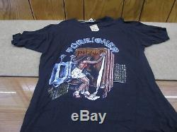 Vintage FOREIGNER ON TOUR'79 T SHIRT With Concert Ticket Stub 11/10/1979 XL VGC