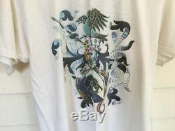 Vintage Rare Original JETHRO TULL 1987 Rock Concert T Shirt & Ticket Stub
