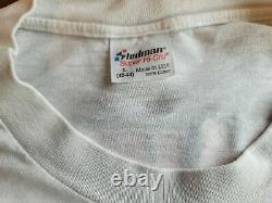 Vintage Soundgarden Tour Concert Shirt (1990) withticket stub & autographs